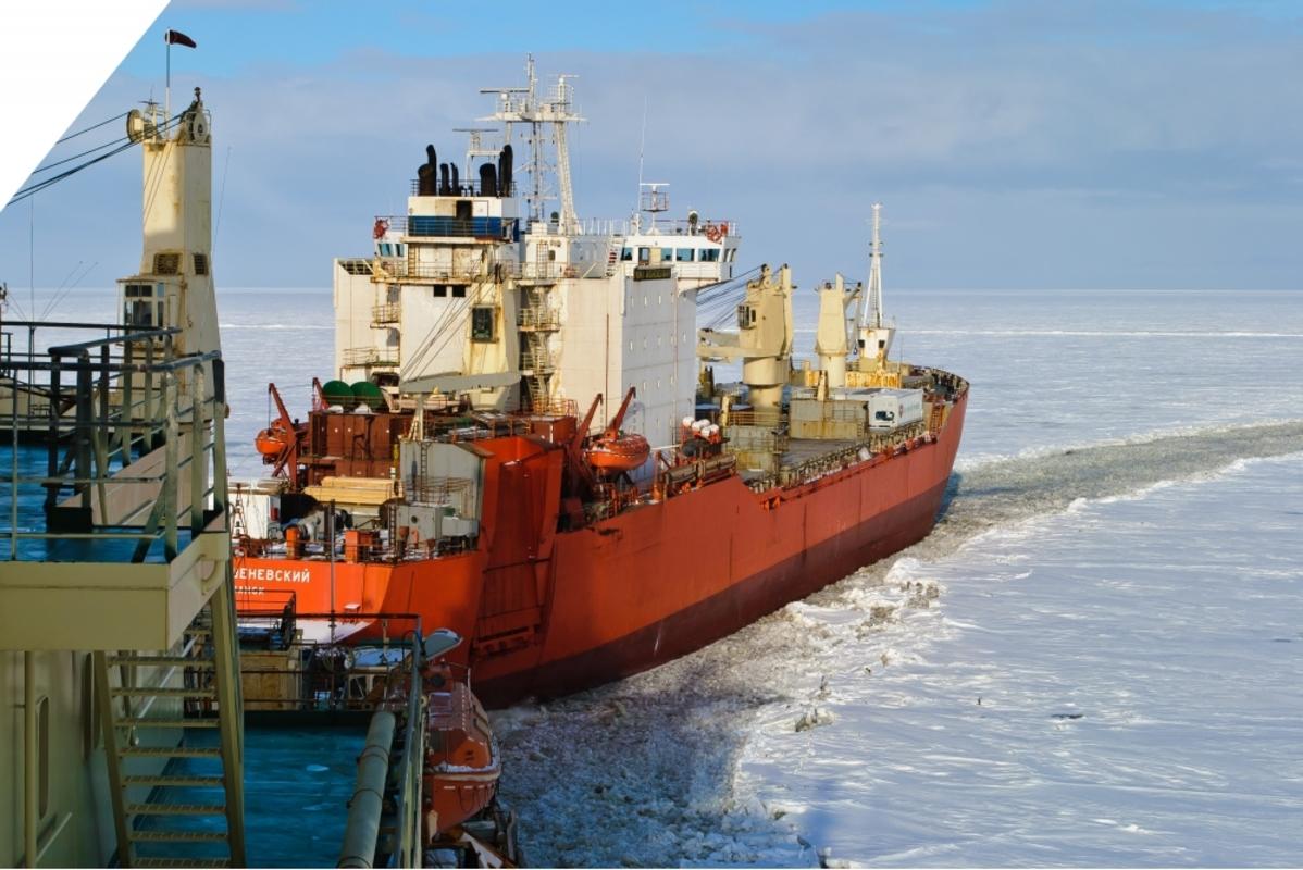 Суда ЛОРПа продолжают северный завоз, активно работая в Арктике